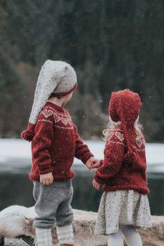 DSA73-42 Hjertegenser barn dyp rød | Du Store Alpakka Knitting For Kids, Baby Knitting Patterns, Knit Crochet, Baby Kids, Kids Outfits, Winter Hats, Sewing, Children, Instagram