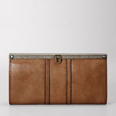 everyone needs a good leather clutch.