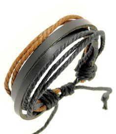 cool leather bracelet