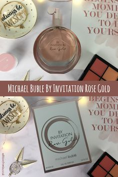 Fragrance Friday - Michael Bublé By Invitation Rose Gold EDP. Click here to find out more: http://withlovefromlou.co.uk/2018/05/by-invitation-rose-gold/