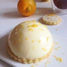 Pana cotta aux 2 Citrons sur Canestrelli à la Bergamote