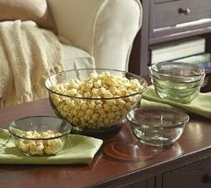 Pottery Barn Casa Recycled-Glass Serving Bowls  $39.00