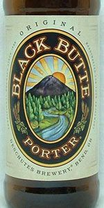 Black Butte Porter - Deschutes Brewery (Bend, Oregon, United States) American Porter | 5% ABV 93 (exceptional) Bros Say 100 (world class) as of 12-06-2012 http://www.deschutesbrewery.com/brew/black-butte-porter#