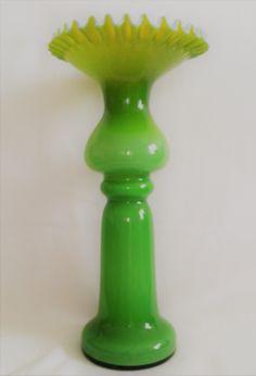 Du�y unikatowy wazon � Huta Szk�a Z�bkowice
