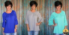 Who doesn't love a little flare? This beautiful top gives you a flowy feel along with a touch of flare on the sleeve. You are going to love the way this top makes you look AND feel!  Available in 7 Fall colors!