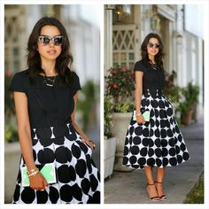 Love this as a church look Modest Fashion, Fashion Outfits, Women's Fashion, 2015 Fashion Trends, Church Fashion, Complete Outfits, White Fashion, Summer Outfits, Short Sleeve Dresses