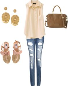 Cute, created by clairelake on Polyvore#Repin By:Pinterest++ for iPad#