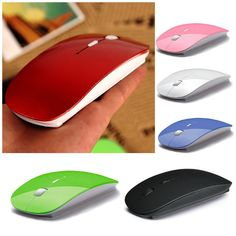 Digital 2.4G Wireless Mouse And Mice 6 Color  10M Working Distance,Super Slim Mouse For Computer PC Laptop Drop Shipping