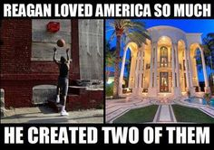 St. Ronnie's two Americas.