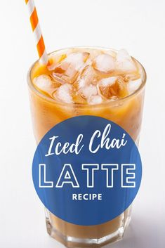 Iced Chai Tea Latte - Refreshingly Delicious Summer Drink | Iced Chai Tea Latte, The Chai, Homemade Smoothies, Latte Recipe, Cocktail Recipes, Drink Recipes, Pick Me Up, Summer Drinks, Favorite Recipes