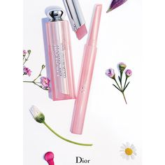 DIOR 'Glowing Gardens' Spring 2016 Makeup Collection ❤ liked on Polyvore featuring beauty and fillers