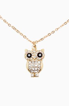 Night Owl Necklace from DailyLook