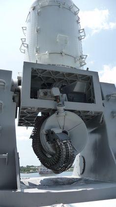 Phalanx Gun. USS NJ BB62