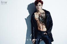"Hongbin: VIXX reveals jacket image + concept photos for 2nd mini-album, ""Error"""