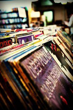 Old Vinyl by fensterbme, via Flickr