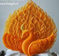 L'arte dell'intaglio Thai a cura di Nico Scalora - Carving fruit lab