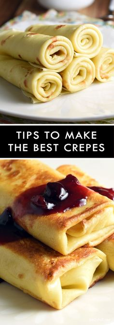 Basic crepes are anything but boring. Delicate and buttery, they're perfect for brunch, lunch, a light dinner, and definitely dessert!