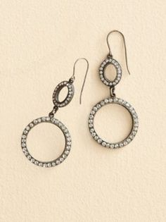 CRYSTAL HOOP EARRINGS in Holiday 2012 from Pendleton on shop.CatalogSpree.com, my personal digital mall.