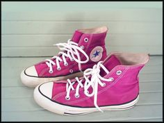 80's PURPLE CHUCKS vintage USA Converse by RockyMountainRetro, $28.00