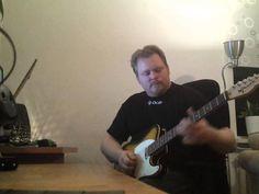 Green TL Custom guitar with standard pickups demo