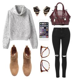"""""""Discovery"""" by xxnickonxx ❤ liked on Polyvore featuring мода, Topshop, Nak Armstrong, H&M, Marc Jacobs и Victoria Beckham"""