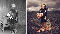 Jane Long verpasst alten Fotos neue Geschichten