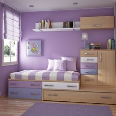 Small Spaces bedroom