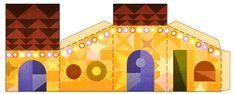 Tis the season! Google has 4 cut out images for you today on their splash page!