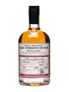 Strathisla cask strength - only at the distillery, blow your socks off!