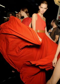 I think Orange is Gala appropriate! Can Gainesville fashion handle this flare of Fabulous?