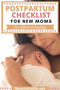 The ultimate postpartum checklist for your recovery after giving birth. Including everything you need to do and what you should avoid postpartum. Postpartum Blues, Postpartum Body, Postpartum Recovery, Postpartum Care, Postpartum Depression, Breastfeeding Problems, Breastfeeding And Pumping, Post Natal Care, New Baby Checklist
