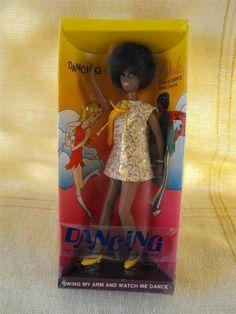 """1970 Topper Doll Dawn's Friend """"Dancing Dale"""" Doll NIB (TW93)"""