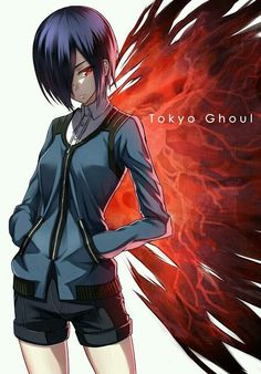 Tokyo Ghoul - I heard the opening song to this anime for the first time today and it's really got me hooked. I really want to start watching this. <<< my brother is obsessed with Tokyo Ghoul. Image Tokyo Ghoul, Ken Kaneki Tokyo Ghoul, Manga Anime, Anime Art, Tokyo Ghoul Saison 1, Touka Kagune, Dark Fantasy, Touka Wallpaper, Hd Wallpaper