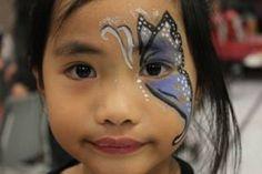 Face Painting Toronto - The Best Party Face Painters in Toronto Face Painting Images, Professional Face Paint, Butterfly Face Paint, Painting For Kids, Best Part Of Me, Body Art Tattoos, Crafty, Projects, Kids Coloring