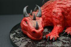 My Dragon Cake Topper - Male
