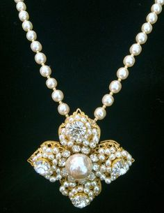 Vintage Miriam Haskel Necklace