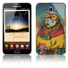 Samsung Galaxy Note Case Holy Clown
