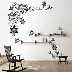 Flower Wall Murals Stickers