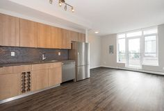 False Creek, Olympic Village Condo for sale @ Proximity by Bastion: 1 bedroom 505 sq. Condos For Sale, Apartments For Sale, Vancouver Apartment, Olympic Village, House Information, Ontario, Kitchen Cabinets, Bedroom, Street