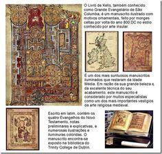 RS Notícias: Livro de Kells, também conhecido como Grande Evang...