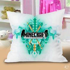 Best Minecraft Logo Sword Pillow Cases