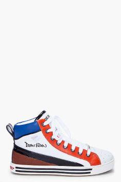 Felino Alta Sneakers. DSquared2.