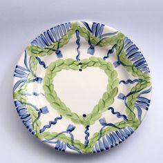 Alle Dessertteller der Familie VertBleu! Die Grün-Blaue Designfamilie von Unikat-Keramik. Das wohl einzigartigste Keramik Geschirr der Welt!
