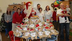 A generous Plymouth charity, brought Christmas cheer and lots of cuddles to our children's wards yesterday.  Representatives from Becca's Bear dropped in to the Activity Centre on level 12 on Tuesday 16 December, armed with tons of teddy bears for donation to the children on the wards. Santa and Build A Bear mascot, Bearemy were also on hand to help with distributing the bears amongst the children.