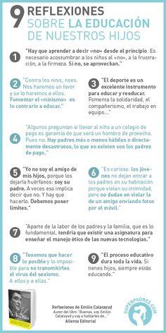 9 reflexiones sobre la educación de nuestros #hiios #bienestar #infantil