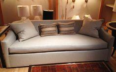 Sleek, modern sofa