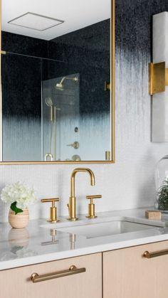 Outdoor Bathrooms, Guest Bathrooms, Dark Blue Bathrooms, Master Shower, Master Bathroom, Tile Showroom, Artistic Tile, Bathroom Inspiration, Interior Inspiration