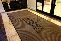 Apartment Logo Entrance Mat PediTred LP G3