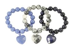The gorgeous new collection of natural stone bracelets from Lola Rose is in stock now! Lola Rose, Stone Bracelet, Natural Stones, Beaded Bracelets, Gems, Collection, Jewelry, Jewlery, Jewerly