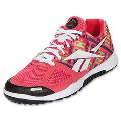 Women's Reebok CrossFit Nano 2.0 Cross Training Shoes   FinishLine.com   Coral Contrast/Green/Prospect Purple